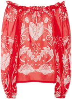 Alice McCall My Sweet Lord Off The Shoulder Blouse