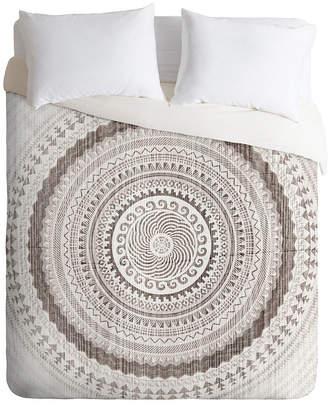 Deny Designs Iveta Abolina Winter Wheat King Duvet Set Bedding