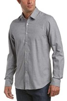 Canali Button-down Woven Shirt.