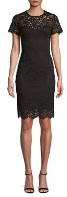 Karen Kane Paris Lace Sheath Dress