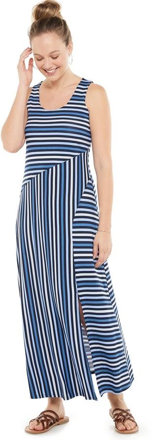 Sonoma Goods For Life Women's Sleeveless Maxi Dress