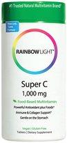 Rainbow Light Super C 1,000 mg Tabs, 60 ct