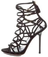 Emilio Pucci Platform Cage Sandals