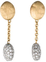 Marco Bicego 18K Diamond Drop Earrings