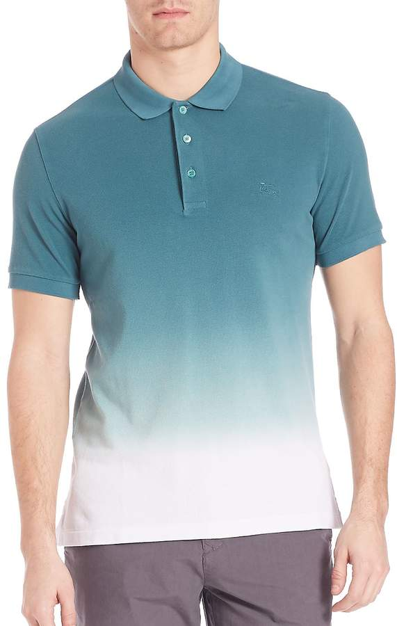Burberry Men's Dip-Dye Polo Shirt