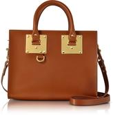 Sophie Hulme Tan Albion Saddle Leather Medium Tote Bag