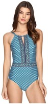 Jantzen Wow Factor High Neck One-Piece