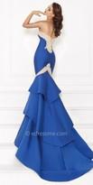 Tarik Ediz Mavli Evening Dress
