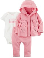 Carter's Baby Girl Little Bear Jacket