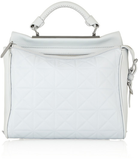 3.1 Phillip Lim Ryder small embossed leather satchel