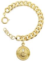 Kenzo Gilt Tiger Cyclop Bracelet