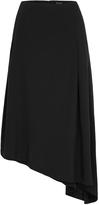 Oxford Hailey Crepe Skirt Black X
