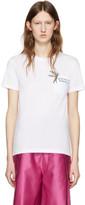 Miu Miu White Bird Logo T-Shirt