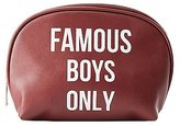 Charlotte Russe Famous Boys Only Makeup Bag