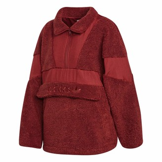 adidas Women's Sherpa Over The Head Outerwear