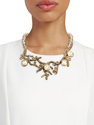 Heidi Daus Crystal Budding Branches Necklace