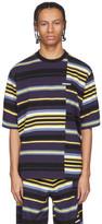 Kenzo Purple Stripe Oversized T-Shirt