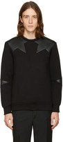 Neil Barrett Black Star Pullover