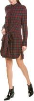 Rag & Bone Felicity Wool-Blend Shirtdress