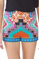 Flying Tomato Kaleidoscope Print Shorts