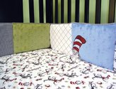 Trend Lab Dr. Seuss Crib Bumpers, Cat In The Hat by