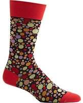 Ozone Dipped Dots Novelty Socks (Men's)
