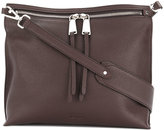 Jil Sander zip-detail shoulder bag - women - Leather - One Size