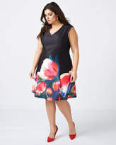 Penningtons Fit and Flare Floral Dress - In Every Story