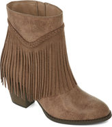 POP Salem Fringe Booties