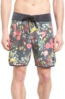 Ezekiel Men's Floral Print Board Shorts