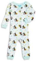 AME Sleepwear Little Boy's Mickey Print Coverall Pajamas