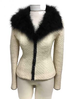 Chanel Ecru Wool Jackets
