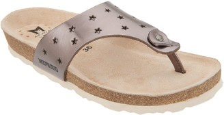Mephisto Perforated Leather Thong Sandals - Nikie Star