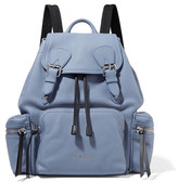 Burberry Medium Chain-trimmed Textured-leather Backpack