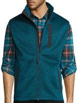 ST. JOHN'S BAY St. John's Bay Terra Tek Sweater Fleece Vest