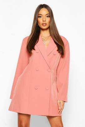 boohoo Oversized Masculine Fit Blazer Dress