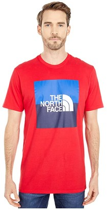 The North Face USA Box Short Sleeve Tee (TNF Red) Men's Clothing