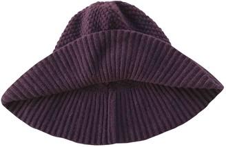 Fendi \N Purple Cashmere Hats