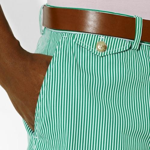 Ralph Lauren Bengal-Striped Golf Short