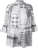 IRO houndstooth print shirt