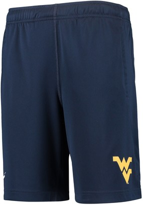Nike Youth Navy West Virginia Mountaineers Fly 2.0 Performance Shorts