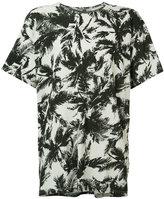 Attachment palm tree T-shirt - men - Cotton - 4
