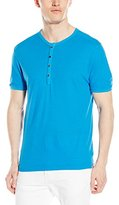 Agave Men's Novo Short Sleeve Henley Shirt
