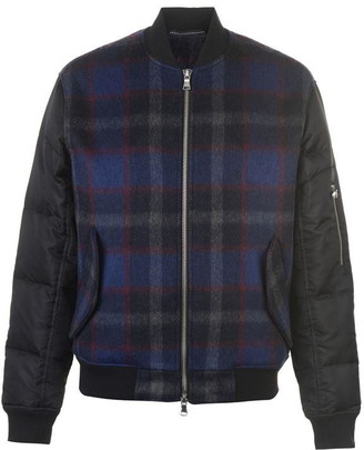 The Very Warm Hyde Wool Bomber Jacket