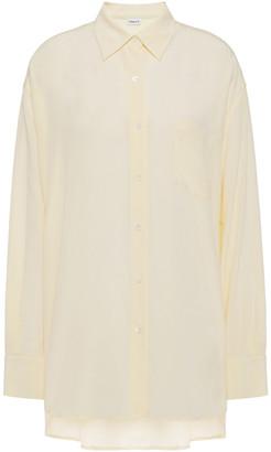 Filippa K Toni Silk Crepe De Chine Shirt