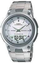 Casio Men's Analog Digital Sport Watch - Silver (AW80D-7AV)