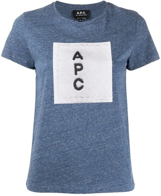 A.P.C. logo T-shirt