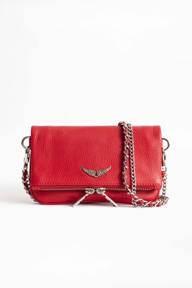 Zadig & Voltaire Rock Nano Grained Clutch