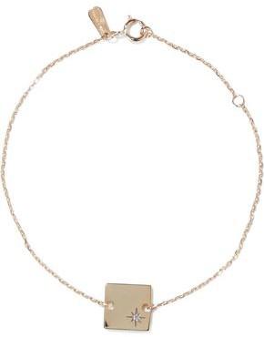 Adina 14-karat Gold Diamond Bracelet