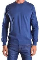 Altea Men's Blue Cotton Sweater.